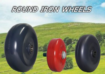 Round Iron Wheels