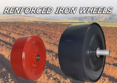 Renforced Iron wheels
