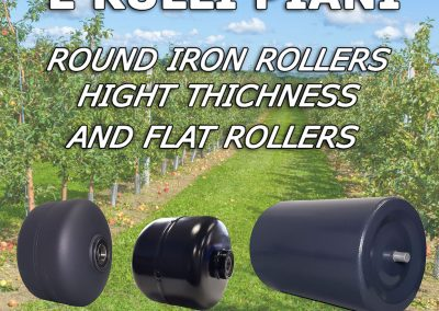 Iron Rollers Hight Thichness and Flat Rollers